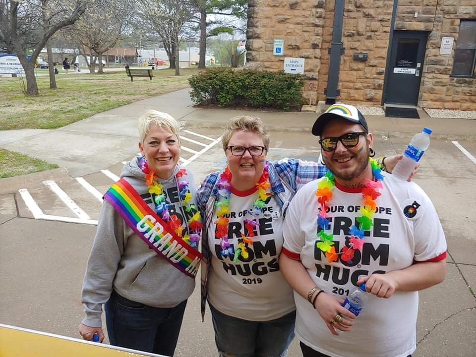 Stillwater, OK Pride 2019 with Sara and Parker